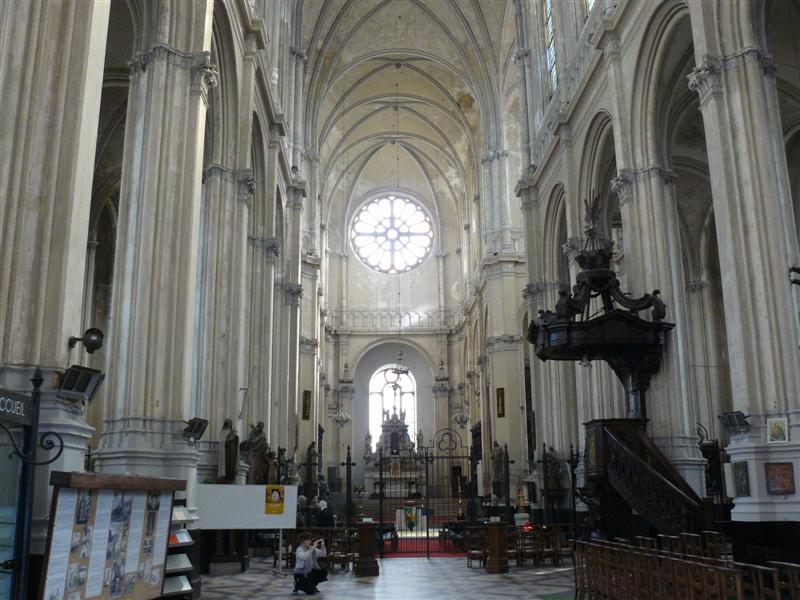 Bruselas. Iglesia de Ste. Catherine.