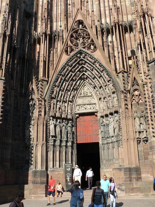 Estrasburgo. Catedral de Notre Dame.