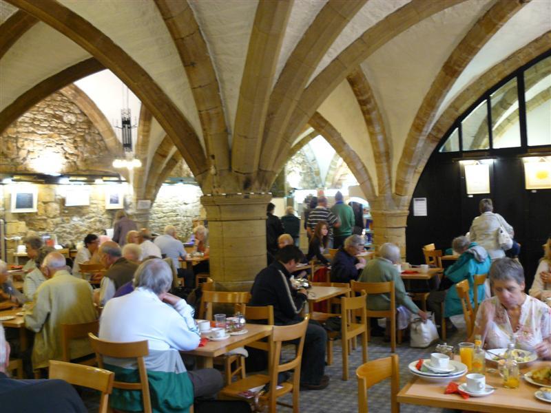 Durham. Catedral. Cafeteria