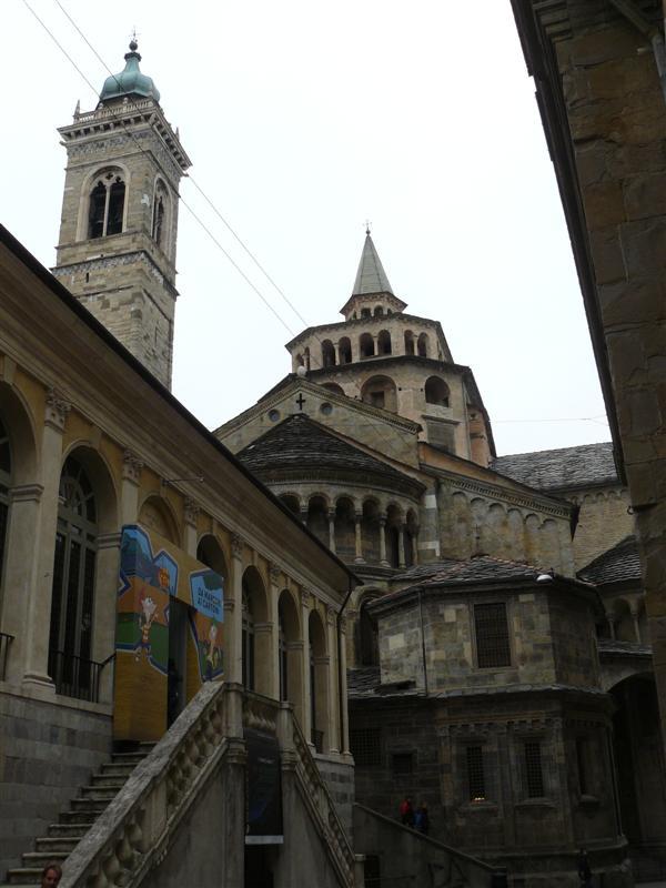 Bergamo. Basilica Santa Maria Maggiore.