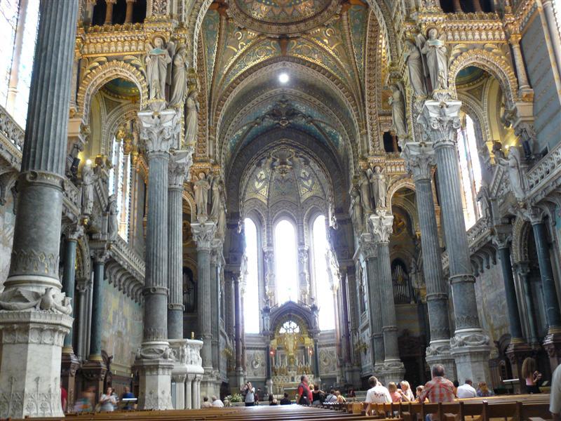 Lyon. Basilica de Notre Dame de Fourvière