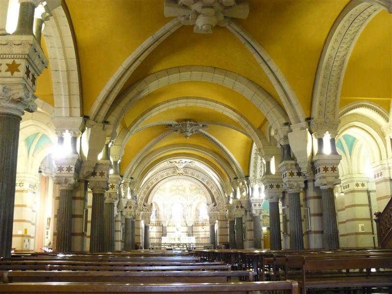 Lyon. Basilica de Notre Dame de Fourvière. Cripta